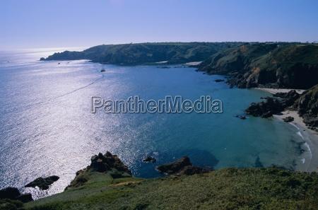 petit bot bay guernsey channel islands