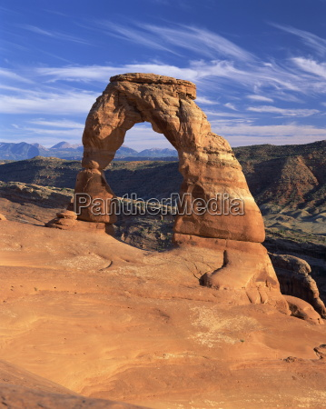 rock formation caused by erosion known