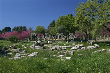 the archaeological site of olympia birthplace