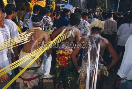 annual hindu festival of thaipusam batu