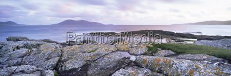 view towards isle of harris at