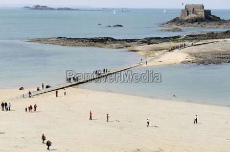beach and national fort st malo