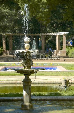 fountain maria luisa park seville andalusia