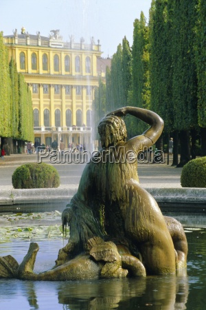 schonbrunn palace vienna austria europe