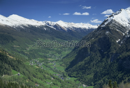 view from the grossglockner road hohe