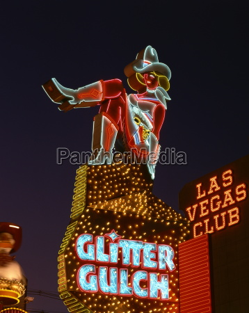 close up of neon sign of