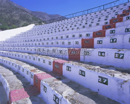 seats in the bull ring mijas