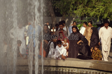 family outing to the zoo lahore