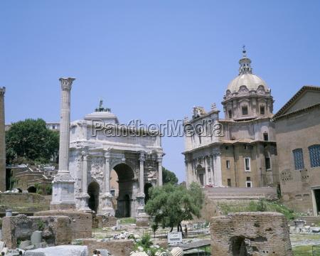 the forum rome unesco world heritage