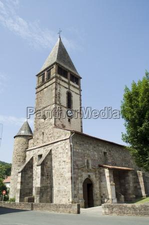 old church in st etienne de