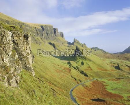 the quiraing isle of skye highlands