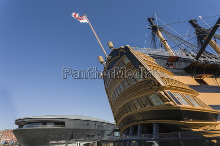 hms victory and the new mary