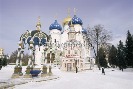 trinity monastery of the christian st