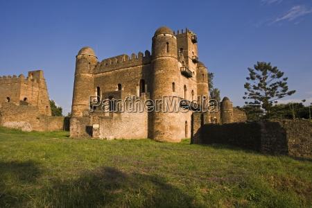 fasiladas palace the royal enclosure gonder