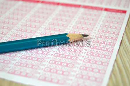 exam optics optical paper student and