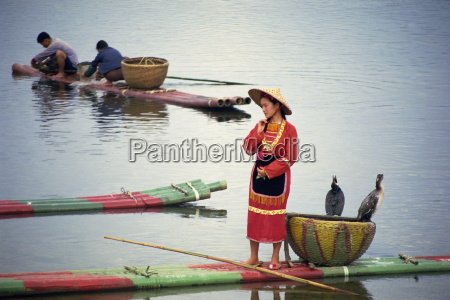woman in traditional dress on a
