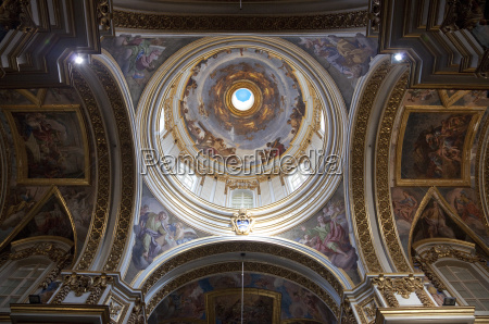 interior of dome st pauls cathedral