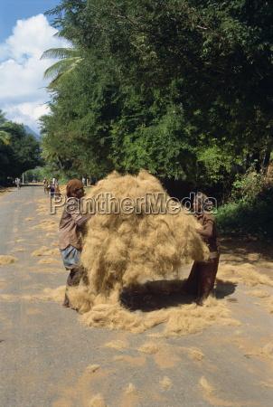 loading coir fibre tamil nadu state