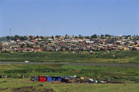 shanty towns of soweto johannesburg south