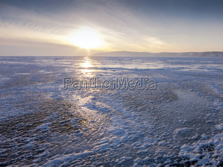 one metre thick ice on the