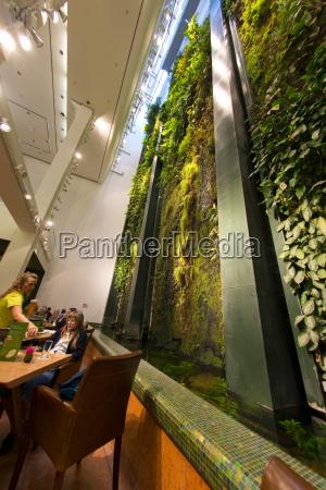 vertical garden living wall designed by