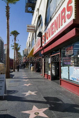 hollywood boulevard hollywood los angeles california