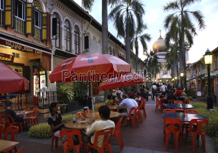 kampung glam is a lively area