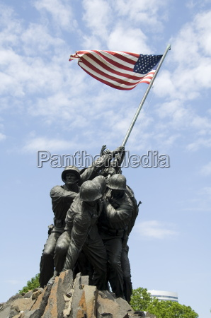 iwo jima memorial arlington virginia united
