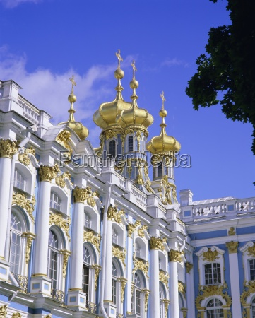 baroque st catherine palace pushkin near