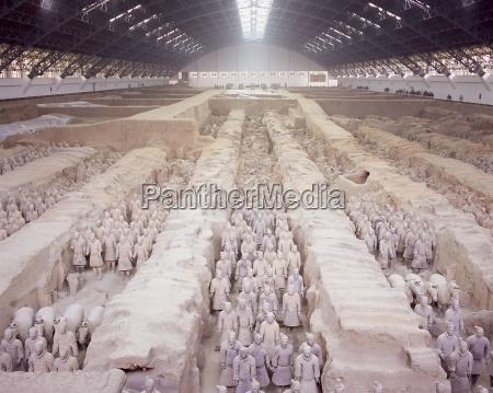 six thousand terracotta figures two thousand