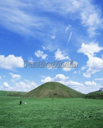 largest man made mound in europe