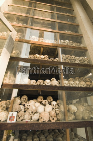 some of the 9000 skulls the