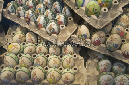 hand painted eggs salzburg austria europe
