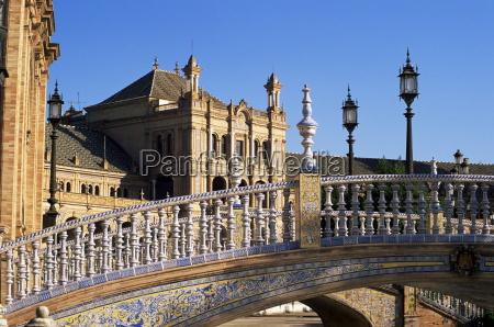 ceramic bridge palacio espanol plaza de