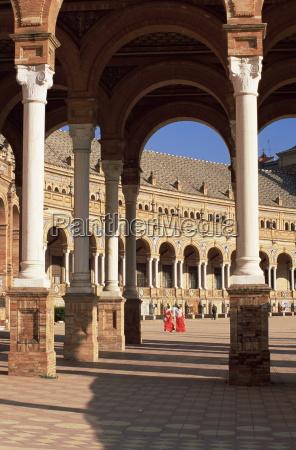 palacio espanol plaza del espana parque
