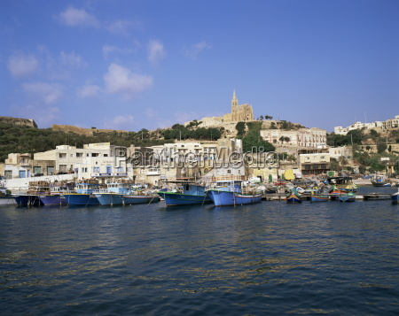 harbour in mgarr island of gozo