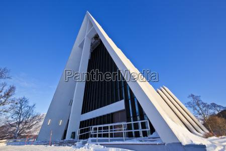 the arctic cathedral polar church tromso
