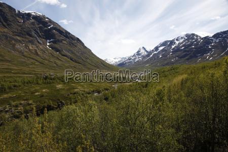 jotunheimen nationalpark sogne og fjordane norway