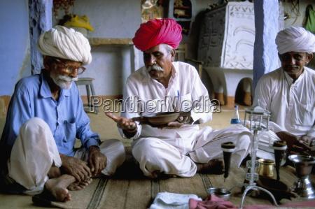 opium ceremony village near jodhpur rajasthan