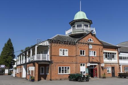 brooklands racetrack clubhouse weybridge surrey england