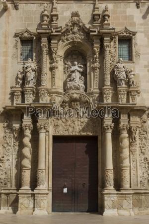 basilica of santa maria alicante spain