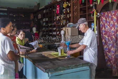 government ration shop sancti spiritus cuba
