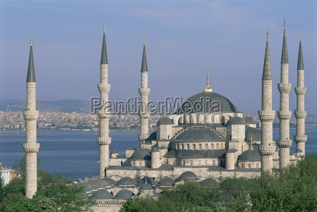 the blue mosque sultan ahmet mosque