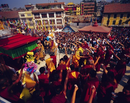 buddist celebration of losar tibetian new