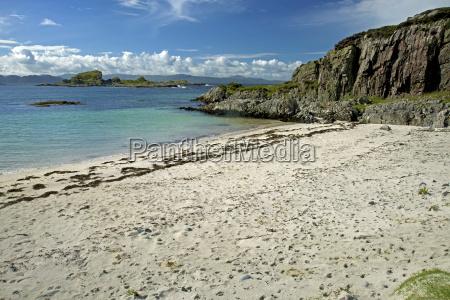 beach opposite islet of eilean a