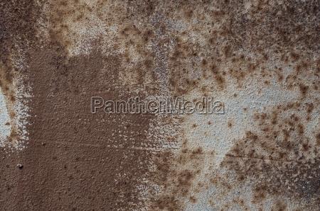 texture of brown rusty metal