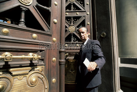 a lawyer leaving the courthouse santiago
