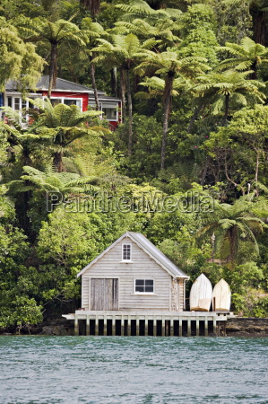 kiwi bach or holiday home with