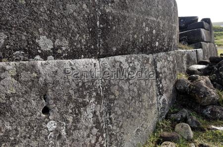 ahu tahira rectangular stone platforms on