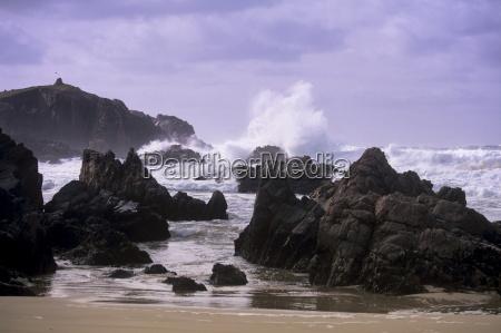 gale force winds near mealista west